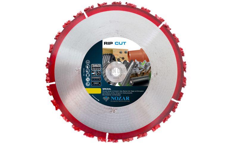 Nozar Rip Cut zaagblad 350x25,4mm.