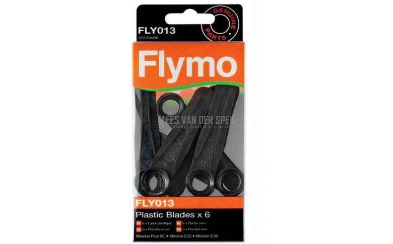 Flymo Mes plastic E25 (6stuks)    FLY013