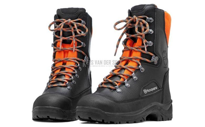 Haut, chaussures sécurité en cuir avec p