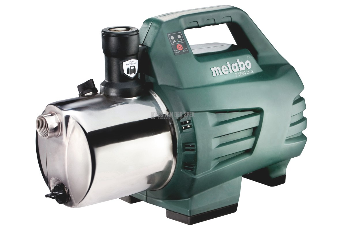 Metabo P6000 inox waterpomp 55/6000