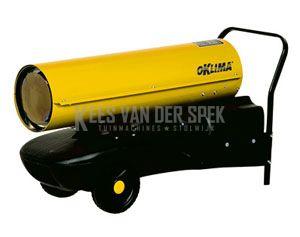 Oklima SD130 direkt gestookte heater38kw