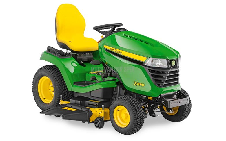 John Deere X590 tracteur de jardin