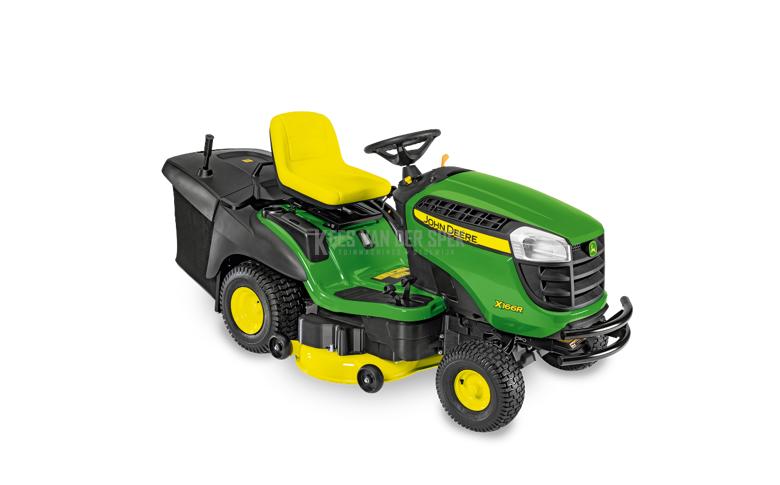 John Deere X166R tracteur de jardin