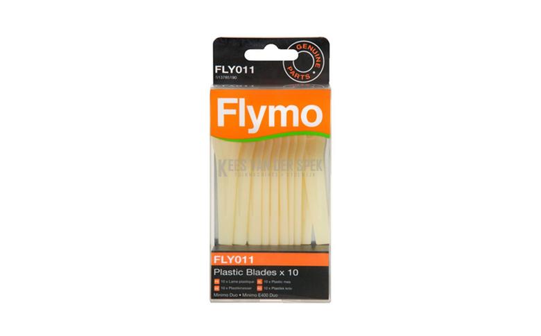 Lames en plastique Flymo Old (10 pièces)