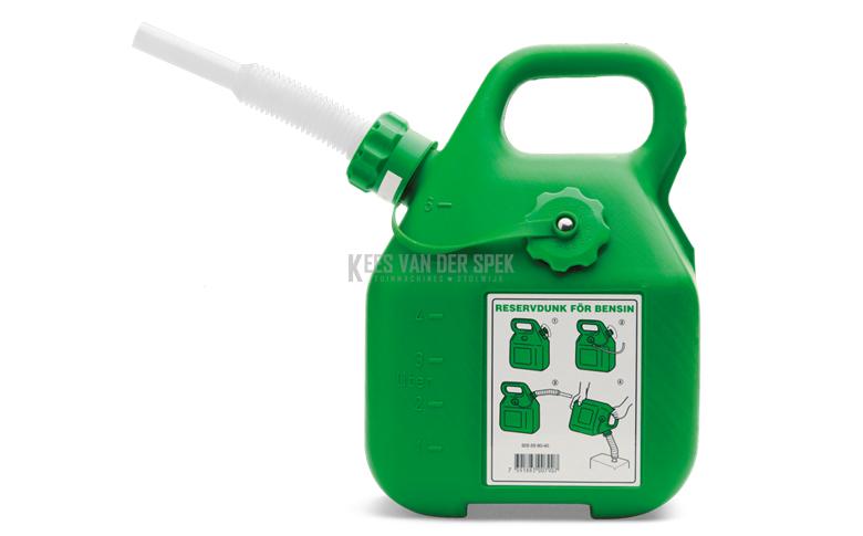 Husqvarna Benzinetank groen 6 l.