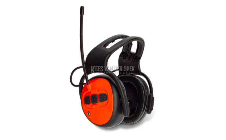 Husq. Gehoorbeschermer met FM-radio&AUX