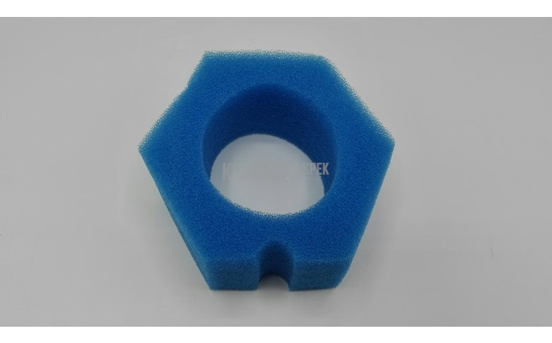 Filterspons, blauw