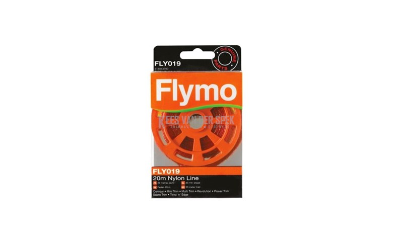 Flymo fil 20 mt (FLY019)