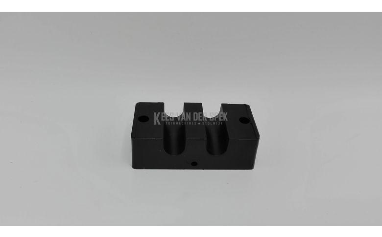 Klemblok PVC voetpedaal