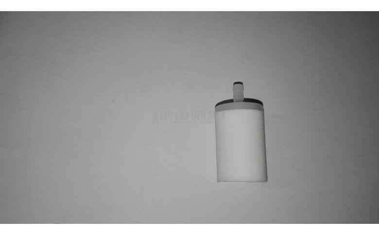 Filter porex 5mm rood