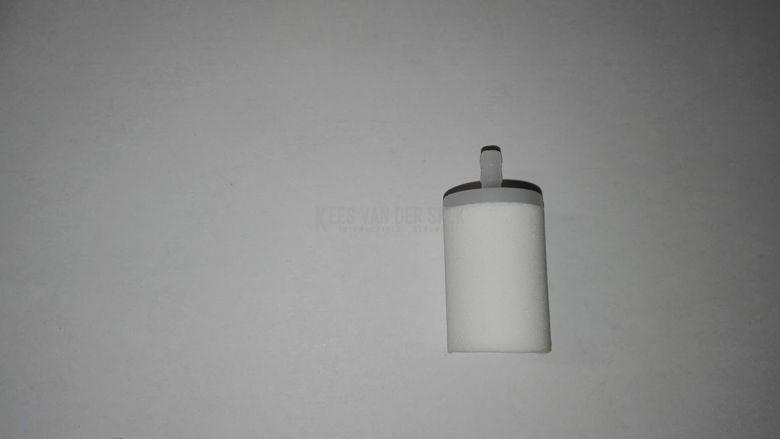 Filter porex 8,5mm oranje