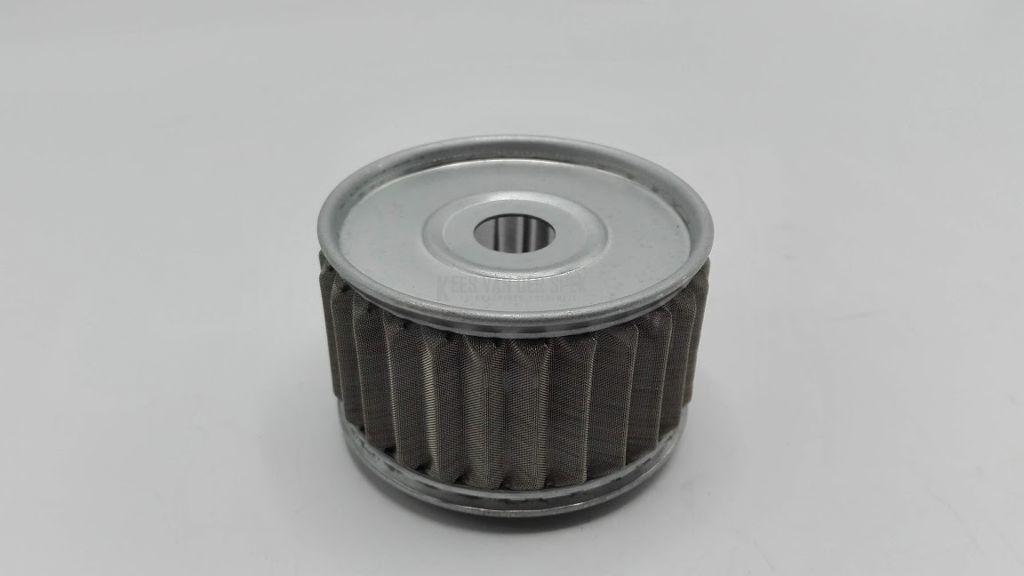 Filter for oil pre-heater