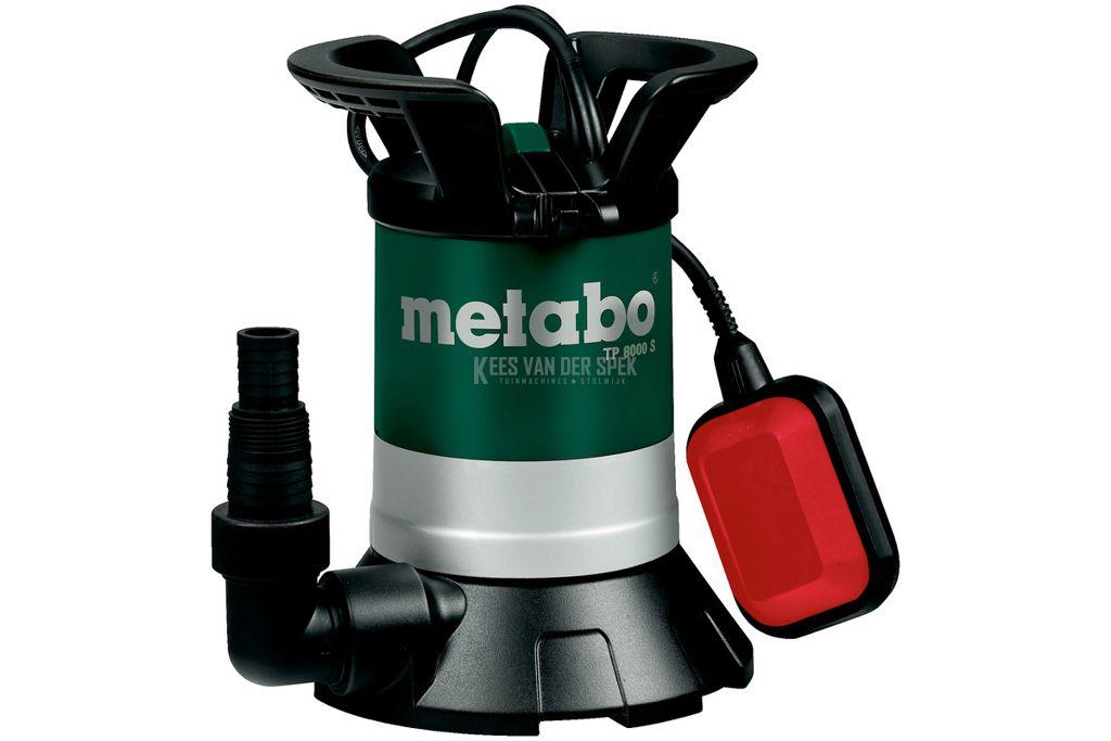 Metabo TP8000S schoonwater dompelpomp