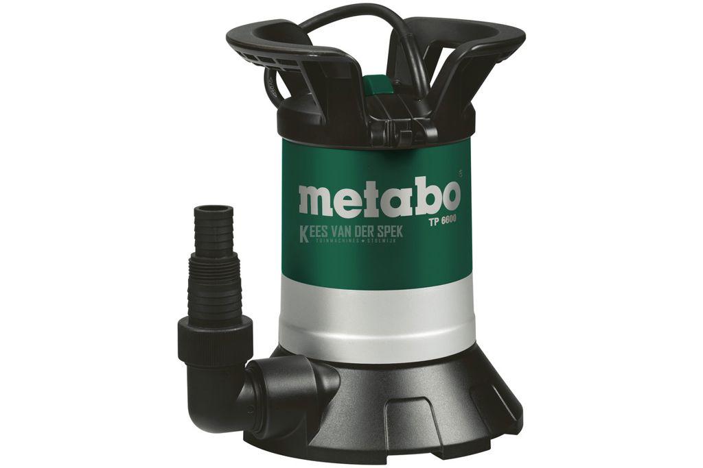 Metabo tp 6600 schoonwater dompelpomp