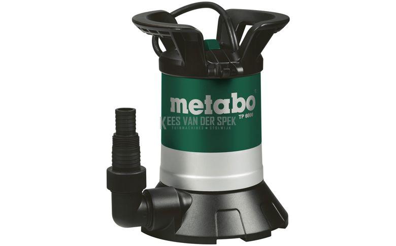 Metabo TP6600 schoonwater dompelpomp