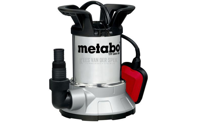 Metabo TPF6600SN schoonwater dompelpomp