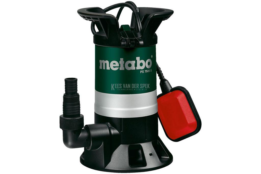 Metabo ps 7500s vuilwater dompelpomp