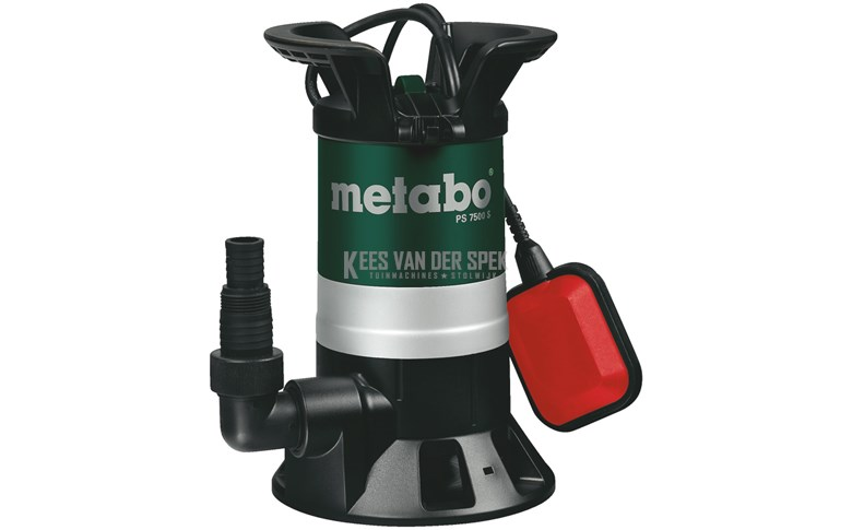 Metabo PS7500S vuilwater dompelpomp