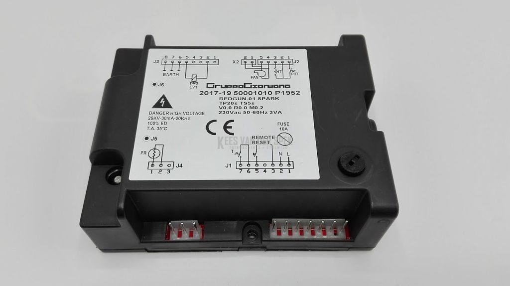 Branderautomaat SD130/170