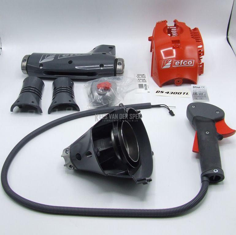 Modf.kit DS4300 kop.huis/cyldeksel/gash.